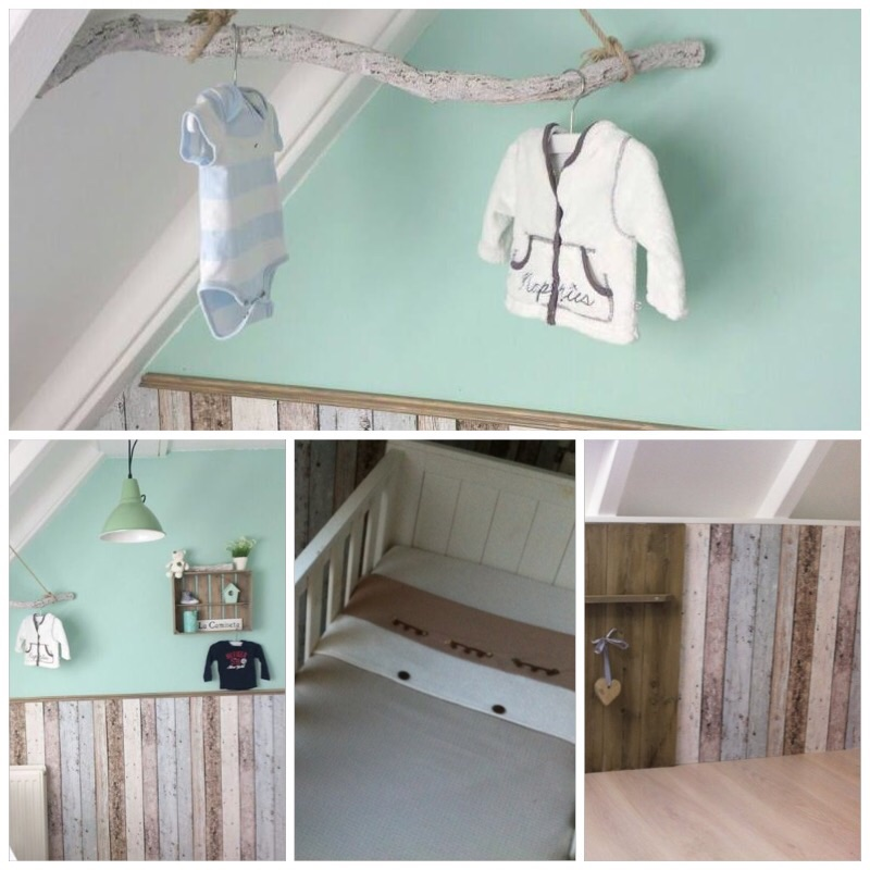 Babykamer accessoires mintgroen for - Kinderkamer taupe ...
